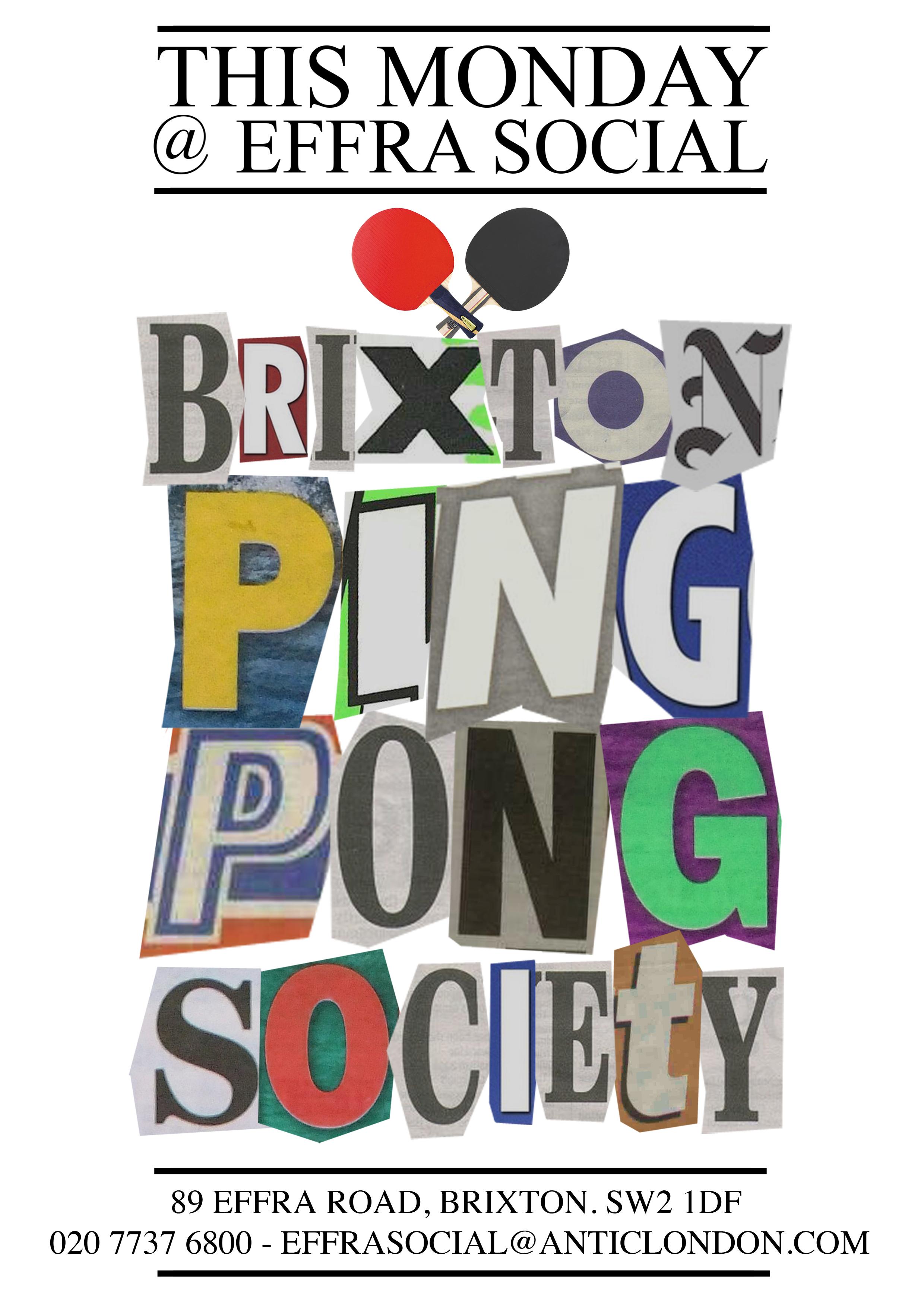 Ping Pong This Monday