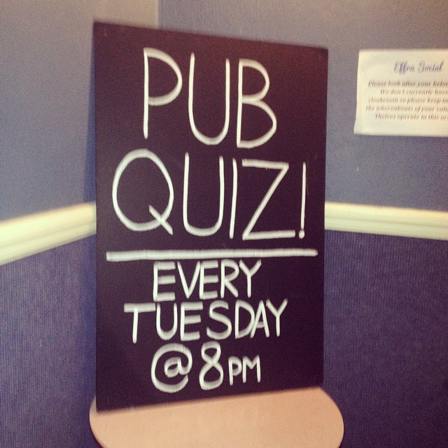 Get down early for what's looking to be another busy quiz! @tommymcardle #brixton #quiz #8pm #£5perteam