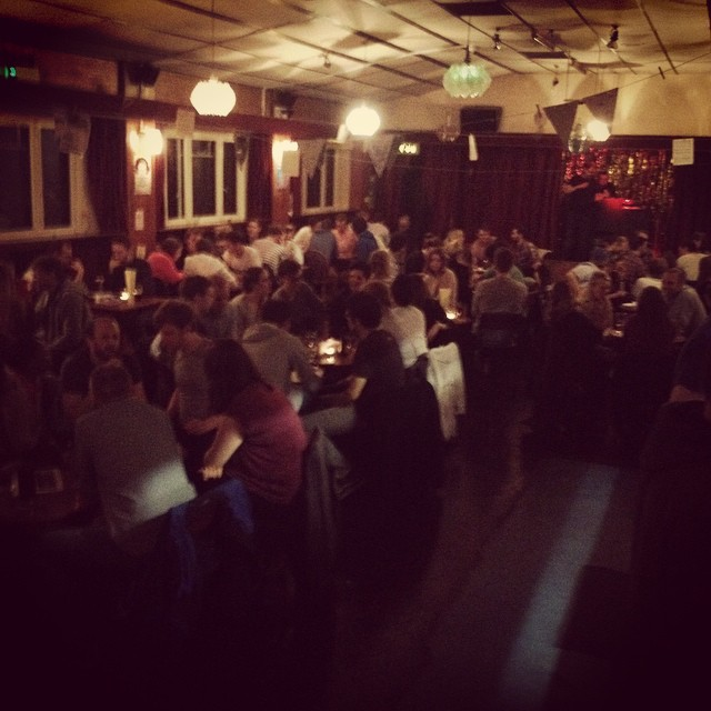 Full house tonight for the quiz! Halloween special. #halloween #quiz @tommymcardle