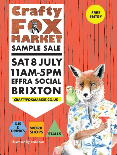 Crafty Fox Sample Sale