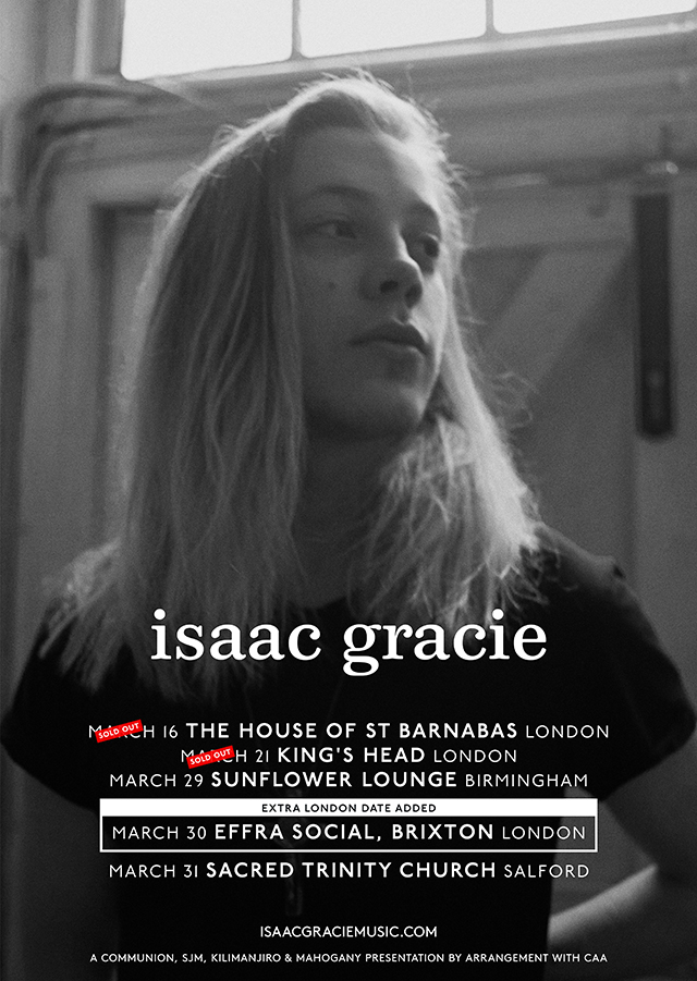 Communion Presents: Isaac Gracie