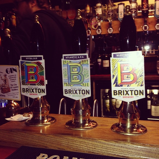 We've got 3 casks all selling fast plus shiny pumps @londonbeercity #brixton #brixtonbrewery #beer