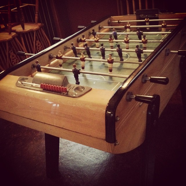 Foosball!! We just got a Foosball table!! #foosballforthewin!