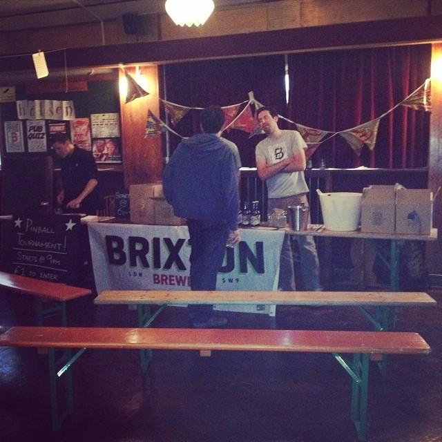 Brixton brewery takeover underway #brixton #beer #londonbeercity