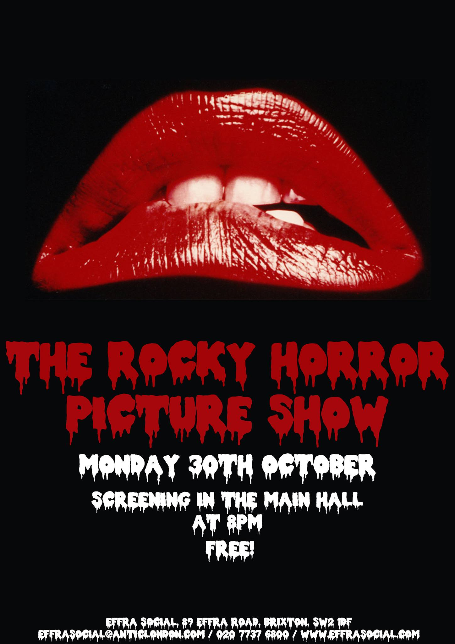 The Rocky Horror Picture Show FREE SCREENING