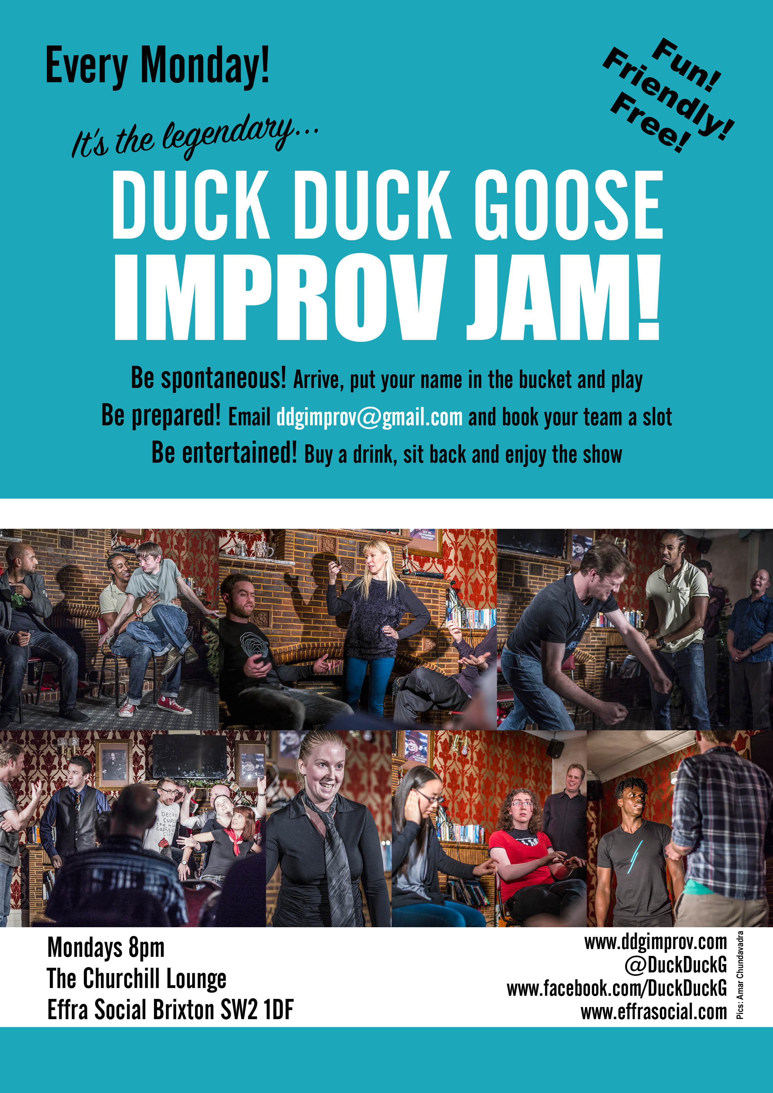 Duck Duck Goose moved to The George for one night only!